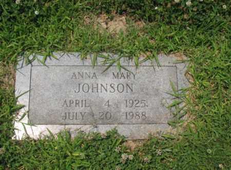 JOHNSON, ANNA MARY - Cross County, Arkansas   ANNA MARY JOHNSON - Arkansas Gravestone Photos