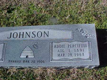 JOHNSON, ADDIE - Cross County, Arkansas   ADDIE JOHNSON - Arkansas Gravestone Photos