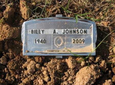 JOHNSON, BILLY ANDREW - Cross County, Arkansas   BILLY ANDREW JOHNSON - Arkansas Gravestone Photos