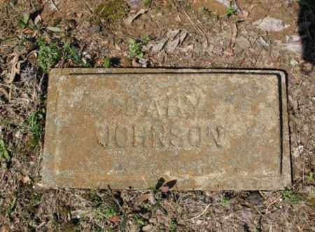 JOHNSON, BABY - Cross County, Arkansas | BABY JOHNSON - Arkansas Gravestone Photos