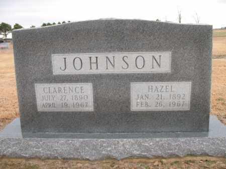 JOHNSON, CLARENCE - Cross County, Arkansas | CLARENCE JOHNSON - Arkansas Gravestone Photos