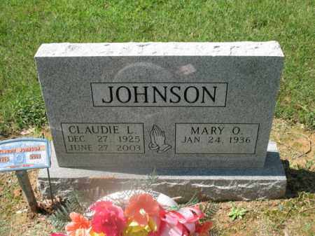 JOHNSON, CLAUDIE L - Cross County, Arkansas   CLAUDIE L JOHNSON - Arkansas Gravestone Photos