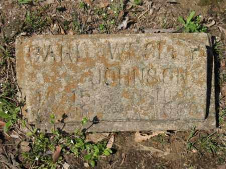 JOHNSON, CARL WESLEY - Cross County, Arkansas   CARL WESLEY JOHNSON - Arkansas Gravestone Photos