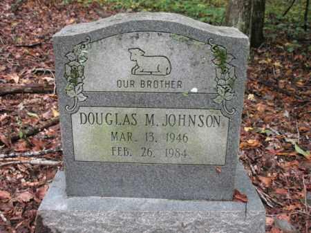 JOHNSON, DOUGLAS M - Cross County, Arkansas   DOUGLAS M JOHNSON - Arkansas Gravestone Photos