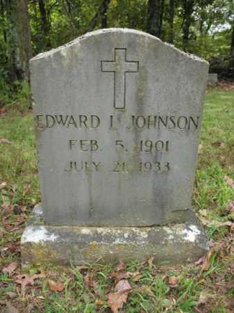 JOHNSON, EDWARD L - Cross County, Arkansas | EDWARD L JOHNSON - Arkansas Gravestone Photos