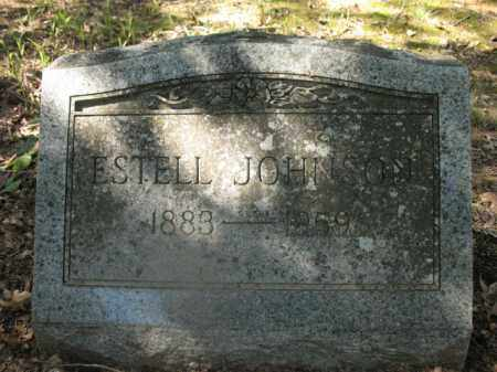 JOHNSON, ESTELL - Cross County, Arkansas | ESTELL JOHNSON - Arkansas Gravestone Photos