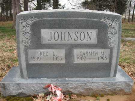 JOHNSON, CARMEN M - Cross County, Arkansas   CARMEN M JOHNSON - Arkansas Gravestone Photos