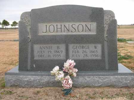 JOHNSON, ANNIE B - Cross County, Arkansas | ANNIE B JOHNSON - Arkansas Gravestone Photos