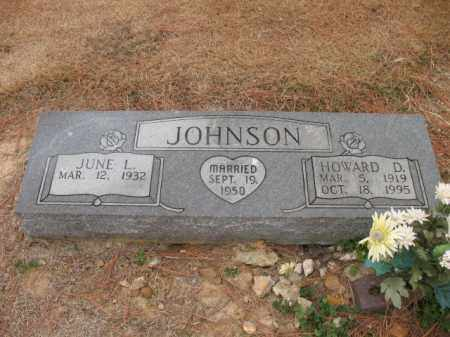 JOHNSON, HOWARD D - Cross County, Arkansas   HOWARD D JOHNSON - Arkansas Gravestone Photos