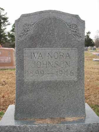 JOHNSON, IVA NORA - Cross County, Arkansas   IVA NORA JOHNSON - Arkansas Gravestone Photos