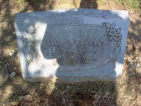 JOHNSON, JESSIE R - Cross County, Arkansas   JESSIE R JOHNSON - Arkansas Gravestone Photos
