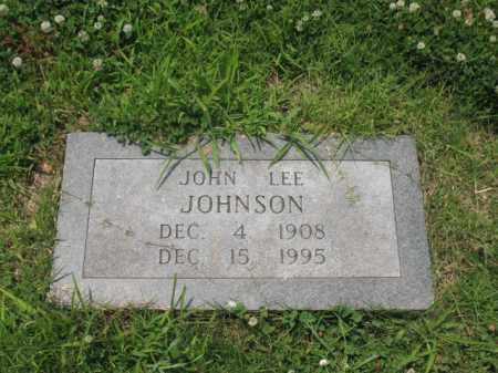 JOHNSON, JOHN LEE - Cross County, Arkansas | JOHN LEE JOHNSON - Arkansas Gravestone Photos