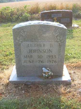 JOHNSON, LUTHER D - Cross County, Arkansas   LUTHER D JOHNSON - Arkansas Gravestone Photos