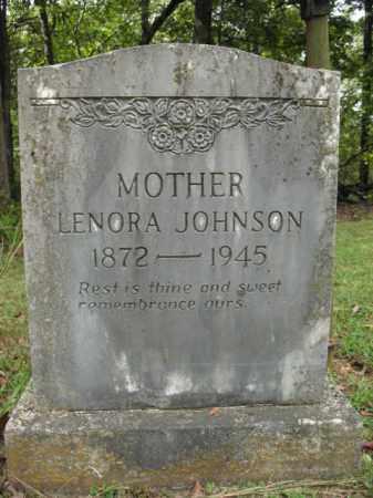 JOHNSON, LENORA - Cross County, Arkansas | LENORA JOHNSON - Arkansas Gravestone Photos