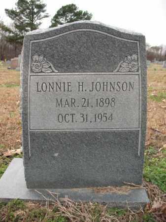 JOHNSON, LONNIE H - Cross County, Arkansas | LONNIE H JOHNSON - Arkansas Gravestone Photos