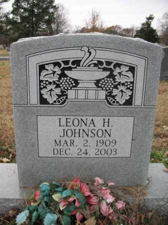 JOHNSON, LEONA H - Cross County, Arkansas   LEONA H JOHNSON - Arkansas Gravestone Photos