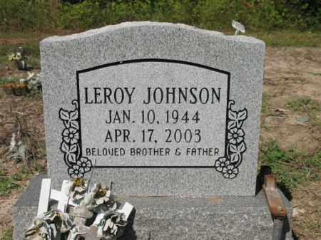 JOHNSON, LEROY - Cross County, Arkansas | LEROY JOHNSON - Arkansas Gravestone Photos