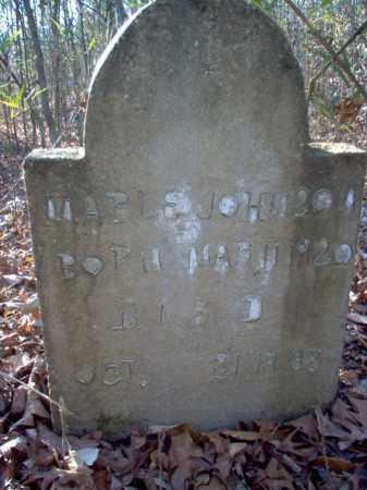 JOHNSON, MABLE - Cross County, Arkansas   MABLE JOHNSON - Arkansas Gravestone Photos