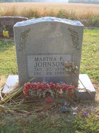 JOHNSON, MARTHA P - Cross County, Arkansas | MARTHA P JOHNSON - Arkansas Gravestone Photos
