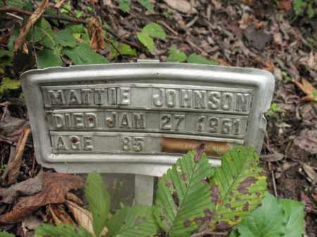 JOHNSON, MATTIE - Cross County, Arkansas | MATTIE JOHNSON - Arkansas Gravestone Photos