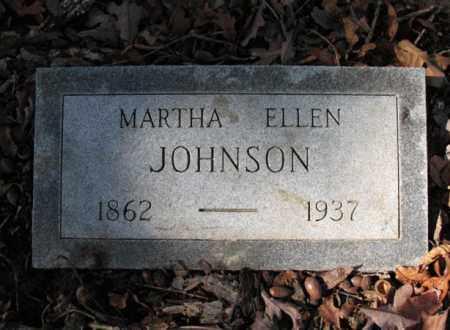 JOHNSON, MARTHA ELLEN - Cross County, Arkansas | MARTHA ELLEN JOHNSON - Arkansas Gravestone Photos