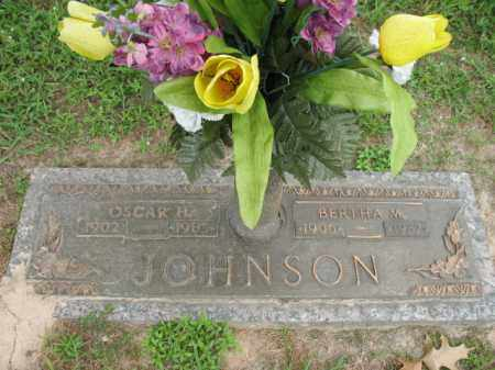 JOHNSON, BERTHA M - Cross County, Arkansas | BERTHA M JOHNSON - Arkansas Gravestone Photos