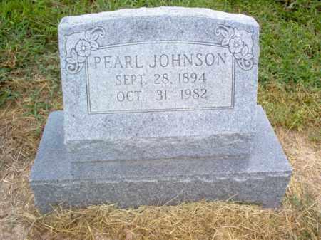 JOHNSON, PEARL - Cross County, Arkansas | PEARL JOHNSON - Arkansas Gravestone Photos
