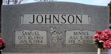 JOHNSON, MINNIE - Cross County, Arkansas | MINNIE JOHNSON - Arkansas Gravestone Photos