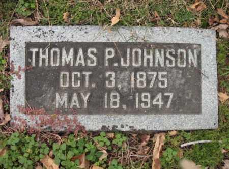 JOHNSON, THOMAS P - Cross County, Arkansas | THOMAS P JOHNSON - Arkansas Gravestone Photos