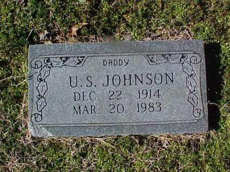 JOHNSON, U S - Cross County, Arkansas | U S JOHNSON - Arkansas Gravestone Photos