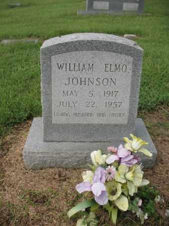 JOHNSON, WILLIAM ELMO - Cross County, Arkansas | WILLIAM ELMO JOHNSON - Arkansas Gravestone Photos