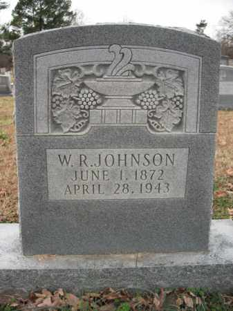 JOHNSON, W R - Cross County, Arkansas | W R JOHNSON - Arkansas Gravestone Photos