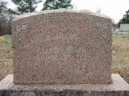 JOHNSON, WILLIAM HENRY - Cross County, Arkansas | WILLIAM HENRY JOHNSON - Arkansas Gravestone Photos