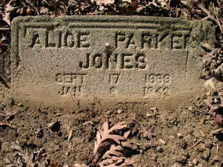 JONES, ALICE - Cross County, Arkansas   ALICE JONES - Arkansas Gravestone Photos
