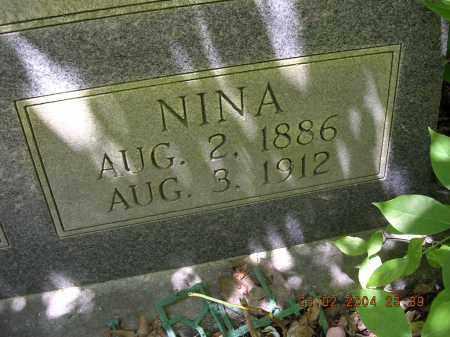 MILTON JONES, NINA - Cross County, Arkansas   NINA MILTON JONES - Arkansas Gravestone Photos