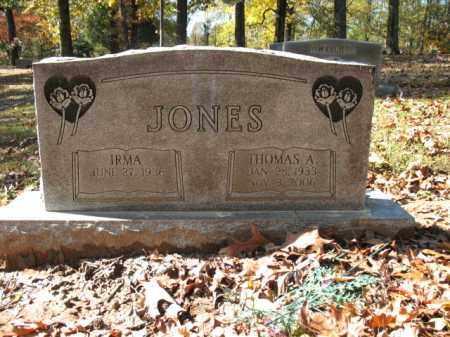 JONES, THOMAS ALVA - Cross County, Arkansas | THOMAS ALVA JONES - Arkansas Gravestone Photos