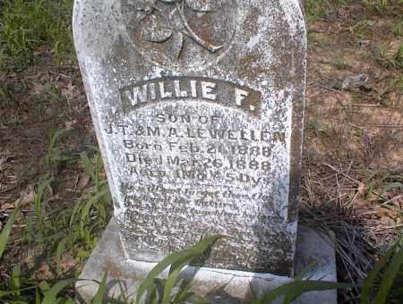 LEWELLEN, WILLIE F. - Cross County, Arkansas | WILLIE F. LEWELLEN - Arkansas Gravestone Photos
