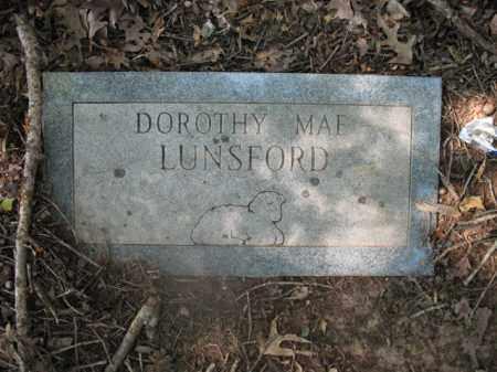 LUNSFORD, DOROTHY MAE - Cross County, Arkansas | DOROTHY MAE LUNSFORD - Arkansas Gravestone Photos