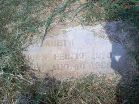 MARSH, ELIZABETH - Cross County, Arkansas | ELIZABETH MARSH - Arkansas Gravestone Photos