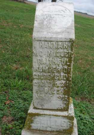 MCMILLER, HANNAH - Cross County, Arkansas   HANNAH MCMILLER - Arkansas Gravestone Photos