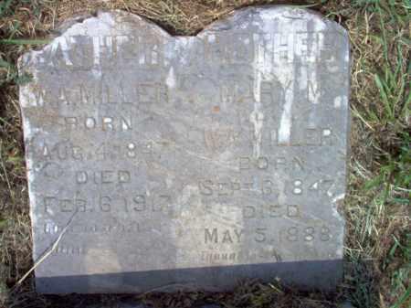 MILLER, W A, DR - Cross County, Arkansas | W A, DR MILLER - Arkansas Gravestone Photos