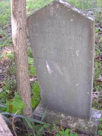 PULLEY, AMBROSE I - Cross County, Arkansas | AMBROSE I PULLEY - Arkansas Gravestone Photos