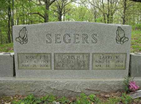 SEGERS, LARRY W - Cross County, Arkansas | LARRY W SEGERS - Arkansas Gravestone Photos