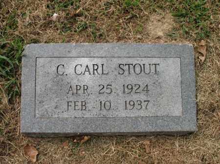 STOUT, C CARL - Cross County, Arkansas | C CARL STOUT - Arkansas Gravestone Photos