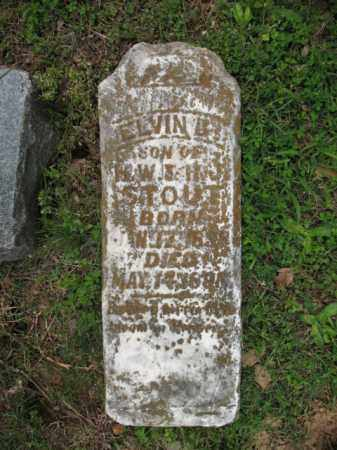 STOUT, ELVIN B - Cross County, Arkansas   ELVIN B STOUT - Arkansas Gravestone Photos