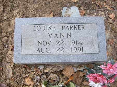 PARKER VANN, LOUISE - Cross County, Arkansas   LOUISE PARKER VANN - Arkansas Gravestone Photos
