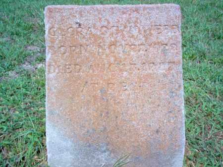 WEBB, GLORA DEAN - Cross County, Arkansas | GLORA DEAN WEBB - Arkansas Gravestone Photos