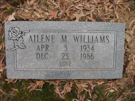 WILLIAMS, AILENE M - Cross County, Arkansas | AILENE M WILLIAMS - Arkansas Gravestone Photos