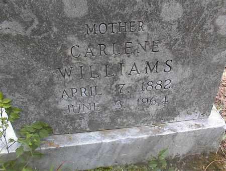 WILLIAMS, CARLENE - Cross County, Arkansas   CARLENE WILLIAMS - Arkansas Gravestone Photos
