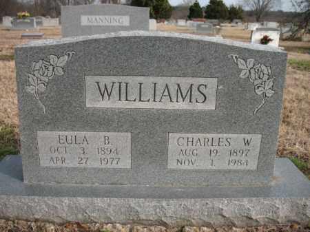 WILLIAMS, CHARLES W - Cross County, Arkansas | CHARLES W WILLIAMS - Arkansas Gravestone Photos